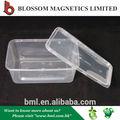 personalizado de plástico transparente individuales de envases de comida para llevar