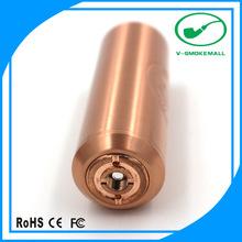 copper mechanical mod e zigaretten electronic smoking vapor cigarette mod parts EI Gigante best telescope v2 mod