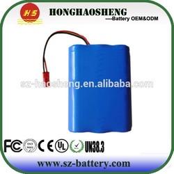 Li battery 18650 2200mah Wearable Devices battery 2200mah 11.1v 3s battery for GPS