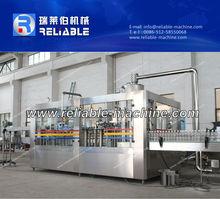 3-in-1 soda içecek dolum makinası, meşrubat su donanımları