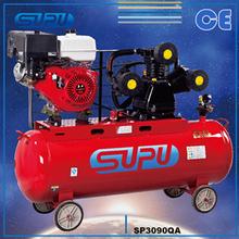 Gasoline AIR Compressor SP3090QA 8BAR 7.5HP 300L air tank