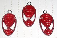 Superhero Charm For Bracelet Wristband, Spider-man Charm