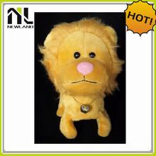 2014 New Design Hot Sales valentine plush lion toys