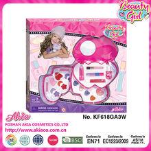 2014 High quality oval pink diamond nylon hair cosmetic brush set