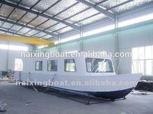 aluminium cuddy cabin boat;semi V boat