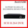 Cheap 8ch Digital Video Recorder dvr h 264 cctv dvr