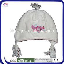 warm and nice polar fleece hats with earflaps