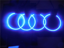 60mm 70mm 80mm 90mm 100mm 110mm 120mm 130mm 140mm LED Angel Eyes white blue eye ring