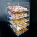 Commercial bakery cake display design showcase