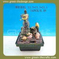 Wholesale decorative bird tabletop fountain