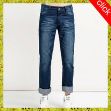 2014 latest design customize innovative low MOQ low price chic style jeans pants for men,straight leg jeans manufacturere OEM