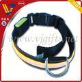 hot ventes 2014 lumineux colliers de chien pour les cadeaux promtional