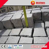 Exterior natural paving stone,red flamed paving stone with CE certificate