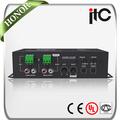 Itc elétrica t-220ap profissional mini áudio amplificador classe d digital