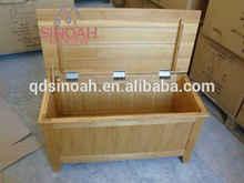 Solid Wood blanket box/wood furniture/bedroom room furniture(CO1000)