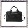 2014 Crocodile Vintage Celebrity shoulder Leather Handbag