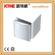 90 Degree glass Square Connector /Bathroom Partition Door accessories