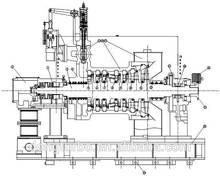 sichuan dongturbo generatore della turbina a vapore per centrale elettrica a biomasse