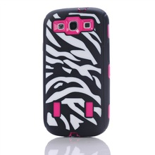 For Samsung Galaxy S3 mobile phone accessory,dual layer protective case for Galaxy S3