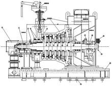 300mw classe generatore della turbina a vapore per carbone- centrale elettrica a