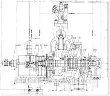 DTEC 300mw generatore della turbina a vapore carbone- centrale elettrica a