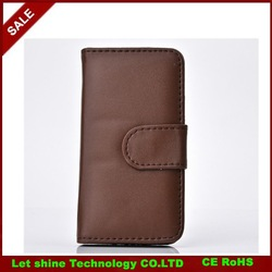 Luxury PU Leather Case for Apple iPhone 4 4S / 5 5S