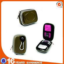Mini clamshell Lightweight travel Compact Camera Zipper Pouch Carrying bag Case