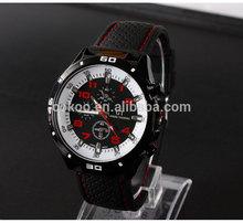 New design six hands two buttons business men wrist watch GT01 style new racing quartz men watches