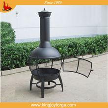wood burning outdoor chimenea/gusseisen chiminea