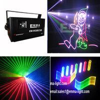 laser 1000 party/ animation/dmx512/ full color laser light x laser 1000 mw