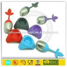 Design economic high quality silicone bulk tea infuser