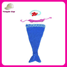 Eco friendly High Quality Toddler Beanie Handmade baby photography props crochet sets