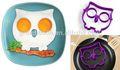 Komik tarafı silikon baykuş yumurta kalıp, pişirme silikon yumurta kalıp, silikon baykuş yumurta kalıp