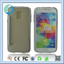 New Product White Transparent Case For Samsung Galaxy S5 Mini