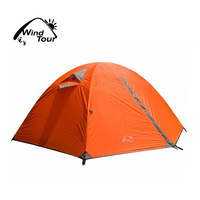 Camping Hiking Mountaineer Tent Double Layer Heavy Rain Resistant Retail Tent