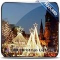 lailuminación de navidad navidad árbol topiario