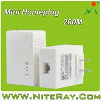 Networking best powerline ethernet 200Mbps homeplug