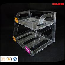 clear plastic desk organizers