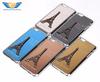 Eiffiel Tower Metal Aluminum Chrome Back Cellphone Case Cover For iPhone 6
