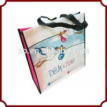 promotional pp cute non woven shopping bag