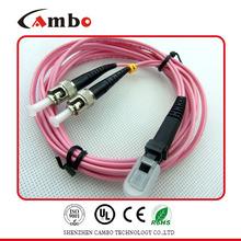 Low Insertion Loss SC LC FC fiber optic patch cord production machine Telecom Level
