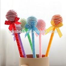 TK-09 Japanese and korean stationery ,Cute Kawaii Korea Novelty lollipops ball pen