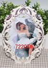 Metal Valentines Gift desktop picture frames wtih crystal