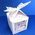Fournitures de mariage cotillons cadeau boîte de bonbons bonbons au chocolat du papier d'emballage boîte de gros