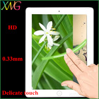 2014 New product Ultra clear Delicate touch Toughened glass film for ipad air tempered screen protector