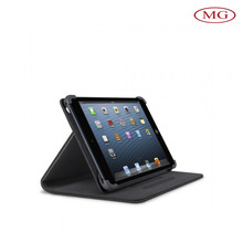 PU leather pad case for apple ipad mini with magnet closed