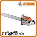 Puissant outil gareden 105cc eobd2/d'essence. big 070 tronçonneuse/pipe chaîne de coupe