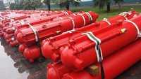 china professional single acting underbody hydraulic piston cylinder