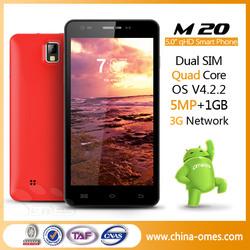 China good quality 5.0 inch dual sim no brand android phones