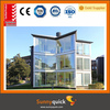 3.0mm outdoor aluminum summer glass room with tempered glass